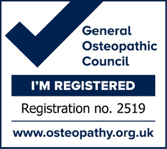 Osteopathy Practitioner Registered Mark 2519